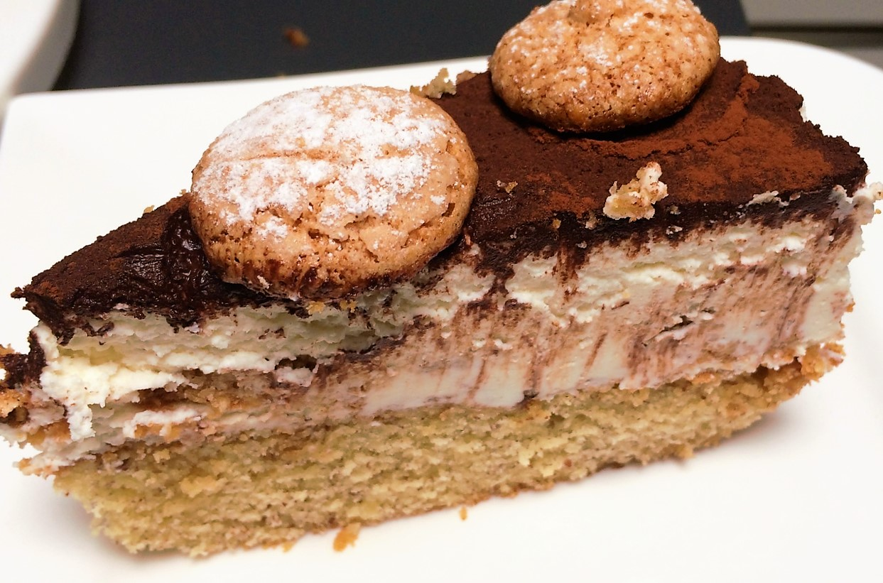 Tiramisu Torte Amarettini Und Amaretto Inklusive Therobbylicious