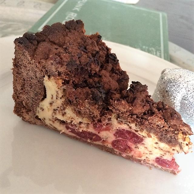 Kirsch Quark Kuchen Und Schokostreusel Therobbylicious